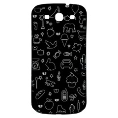 Rebus Samsung Galaxy S3 S Iii Classic Hardshell Back Case by Valentinaart