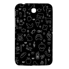 Rebus Samsung Galaxy Tab 3 (7 ) P3200 Hardshell Case  by Valentinaart