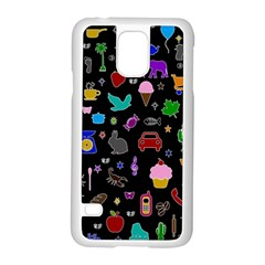 Rebus Samsung Galaxy S5 Case (white) by Valentinaart