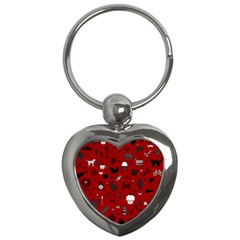 Rebus Key Chains (heart)