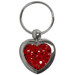 Rebus Key Chains (Heart)  Front