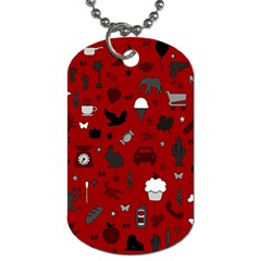 Rebus Dog Tag (two Sides) by Valentinaart