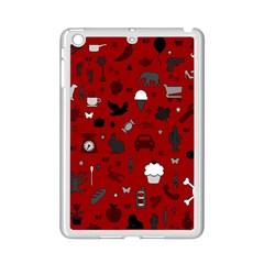 Rebus Ipad Mini 2 Enamel Coated Cases by Valentinaart