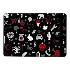 Rebus Samsung Galaxy Tab Pro 10 1  Flip Case by Valentinaart