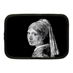 The Girl With The Pearl Earring Netbook Case (medium)  by Valentinaart