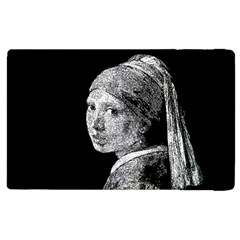 The Girl With The Pearl Earring Apple Ipad 3/4 Flip Case by Valentinaart