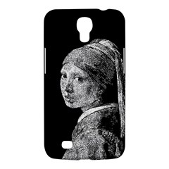 The Girl With The Pearl Earring Samsung Galaxy Mega 6 3  I9200 Hardshell Case by Valentinaart