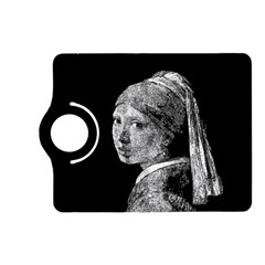 The Girl With The Pearl Earring Kindle Fire Hd (2013) Flip 360 Case by Valentinaart