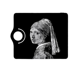 The Girl With The Pearl Earring Kindle Fire Hdx 8 9  Flip 360 Case by Valentinaart