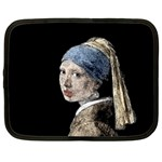 The Girl With The Pearl Earring Netbook Case (XXL)  Front