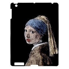 The Girl With The Pearl Earring Apple Ipad 3/4 Hardshell Case by Valentinaart