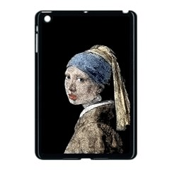 The Girl With The Pearl Earring Apple Ipad Mini Case (black) by Valentinaart