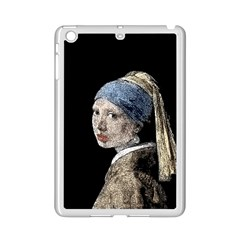 The Girl With The Pearl Earring Ipad Mini 2 Enamel Coated Cases by Valentinaart