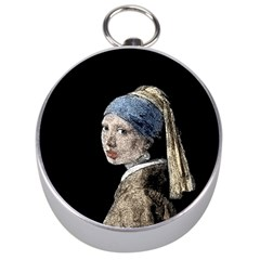 The Girl With The Pearl Earring Silver Compasses by Valentinaart