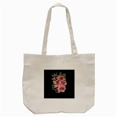 Orchid Tote Bag (cream) by Valentinaart