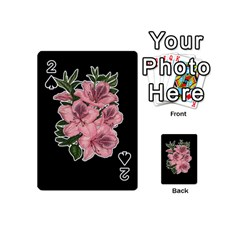 Orchid Playing Cards 54 (mini)  by Valentinaart