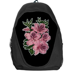 Orchid Backpack Bag by Valentinaart