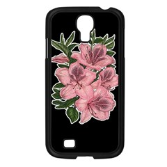 Orchid Samsung Galaxy S4 I9500/ I9505 Case (black) by Valentinaart