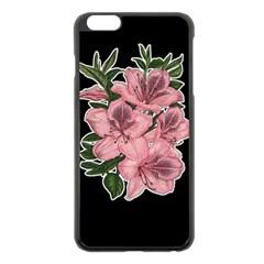 Orchid Apple Iphone 6 Plus/6s Plus Black Enamel Case by Valentinaart
