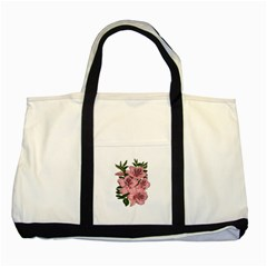 Orchid Two Tone Tote Bag by Valentinaart