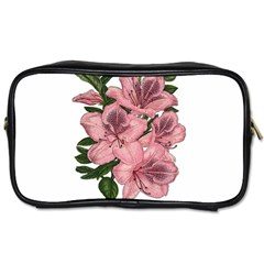 Orchid Toiletries Bags by Valentinaart