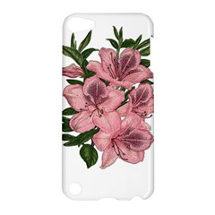 Orchid Apple Ipod Touch 5 Hardshell Case by Valentinaart