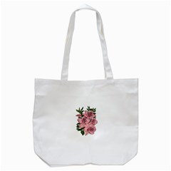 Orchid Tote Bag (white) by Valentinaart