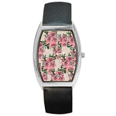 Orchid Barrel Style Metal Watch by Valentinaart