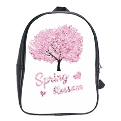 Spring Blossom  School Bags(large)  by Valentinaart