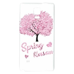 Spring Blossom  Galaxy Note 4 Back Case by Valentinaart