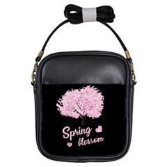 Spring Blossom  Girls Sling Bags by Valentinaart