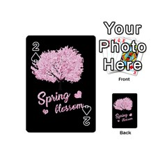 Spring Blossom  Playing Cards 54 (mini)  by Valentinaart