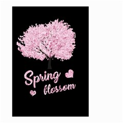Spring Blossom  Small Garden Flag (two Sides) by Valentinaart