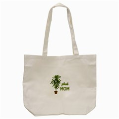 Plant Mom Tote Bag (cream) by Valentinaart