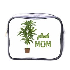 Plant Mom Mini Toiletries Bags by Valentinaart