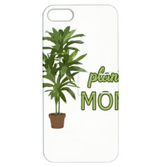 Plant Mom Apple Iphone 5 Hardshell Case With Stand by Valentinaart