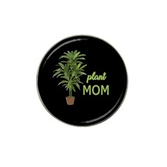 Plant Mom Hat Clip Ball Marker by Valentinaart
