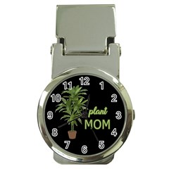 Plant Mom Money Clip Watches by Valentinaart