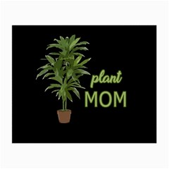 Plant mom Small Glasses Cloth (2-Side) by Valentinaart