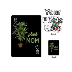 Plant Mom Playing Cards 54 (mini)  by Valentinaart