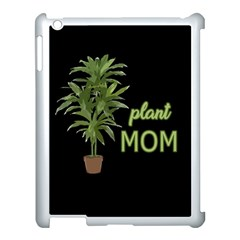 Plant Mom Apple Ipad 3/4 Case (white) by Valentinaart