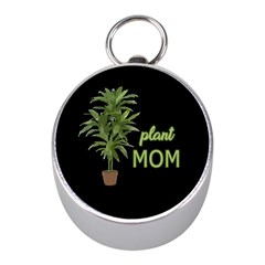 Plant Mom Mini Silver Compasses by Valentinaart