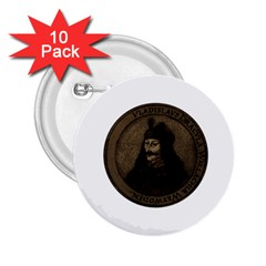 Count Vlad Dracula 2 25  Buttons (10 Pack)  by Valentinaart