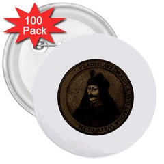 Count Vlad Dracula 3  Buttons (100 Pack)  by Valentinaart