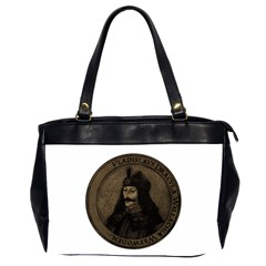 Count Vlad Dracula Office Handbags (2 Sides)  by Valentinaart
