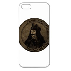 Count Vlad Dracula Apple Seamless Iphone 5 Case (clear) by Valentinaart
