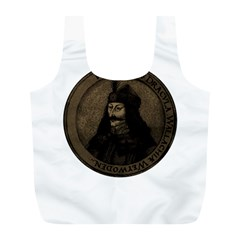 Count Vlad Dracula Full Print Recycle Bags (l)  by Valentinaart