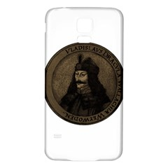 Count Vlad Dracula Samsung Galaxy S5 Back Case (white) by Valentinaart