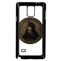 Count Vlad Dracula Samsung Galaxy Note 4 Case (black) by Valentinaart
