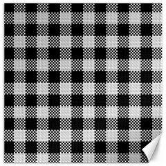 Plaid Pattern Canvas 20  X 20   by ValentinaDesign